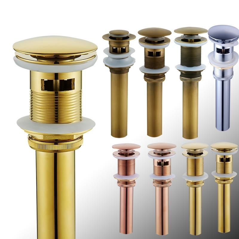 Aliexpress.com : Buy Sturdy Brass Basin Sink Pushes Off
