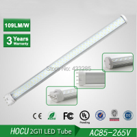 Wholesale 2G11 LED Tube 12W 2835 SMD 320mm PL Tube Bulb High Power Fluorescent 60 Watt