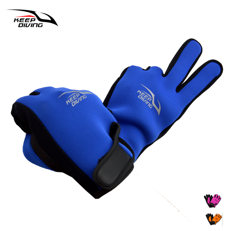 KEEP DIVING 2mm Neoprene Scuba Dive Gloves Snorkeling Submersible Equipment Swim Glove Water Ski Surfing Spearfishing Wet Suit