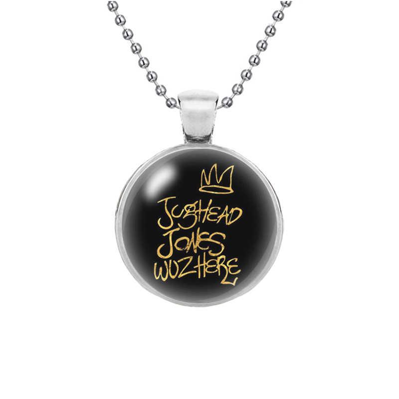 Новая мода ривердейл ожерелье персонализированные стеклянный кабошон длинная цепь пара ожерелья, подвески женские мужские ювелирные изделия