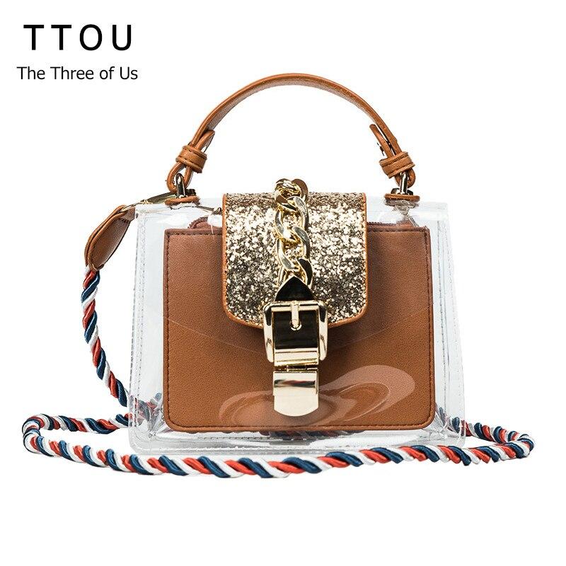 TTOU Women Bags designer Pu Leather Panelled cover soft Luxury Shoulder bags handbag Evening gift casual travel Bag