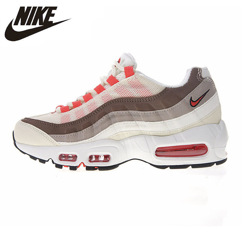 NIKE AIR MAX 95 ESSENTIAL Men's Running Shoes, Grey, Shock absorbing Non slip Breathable Sweat absorbent 749766 021