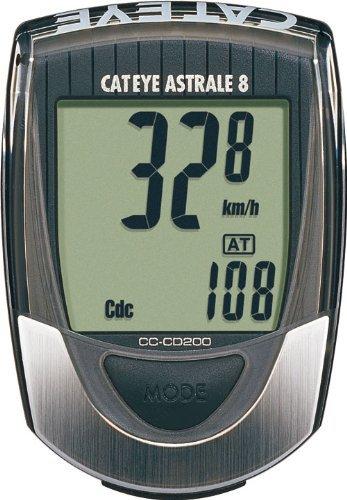 Cateye CC-CD200 Astrale 8-Function bike Bicycle Speedometer Computer