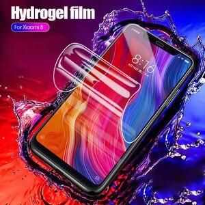 Image 4 - Película de hidrogel para Xiaomi, filme protetor macio para Xiaomi Mi 8, 9, Lite, Pocophone F1, Mi 6, A2 Play, Mix 3, Mi6X, Mi6, Mi8, Mi9 SE, Mi 9T