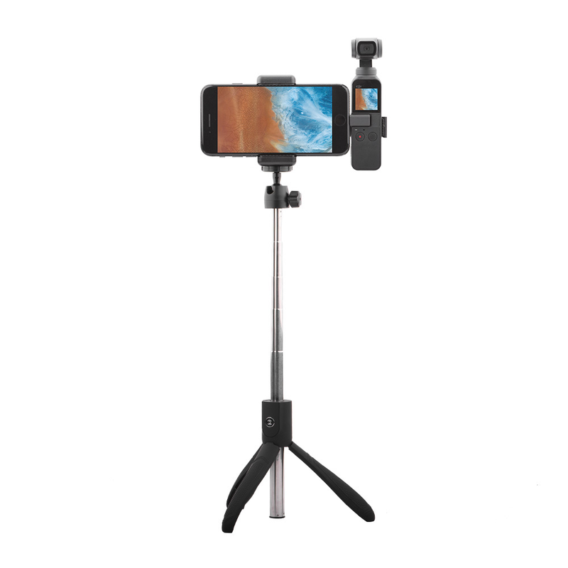 for DJI OSMO POCKET Mobile Phone Holder Securing Clip Mount Bluetooth Tripod Bracket for Osmo Pocket Handheld Gimbal Accessories in Gimbal Accessories from Consumer Electronics