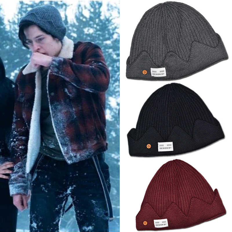 Riverdale Archie Betty Cosplay Beanie Prop Knit Cap Hat Costume Unisex Gift Christmas Winter
