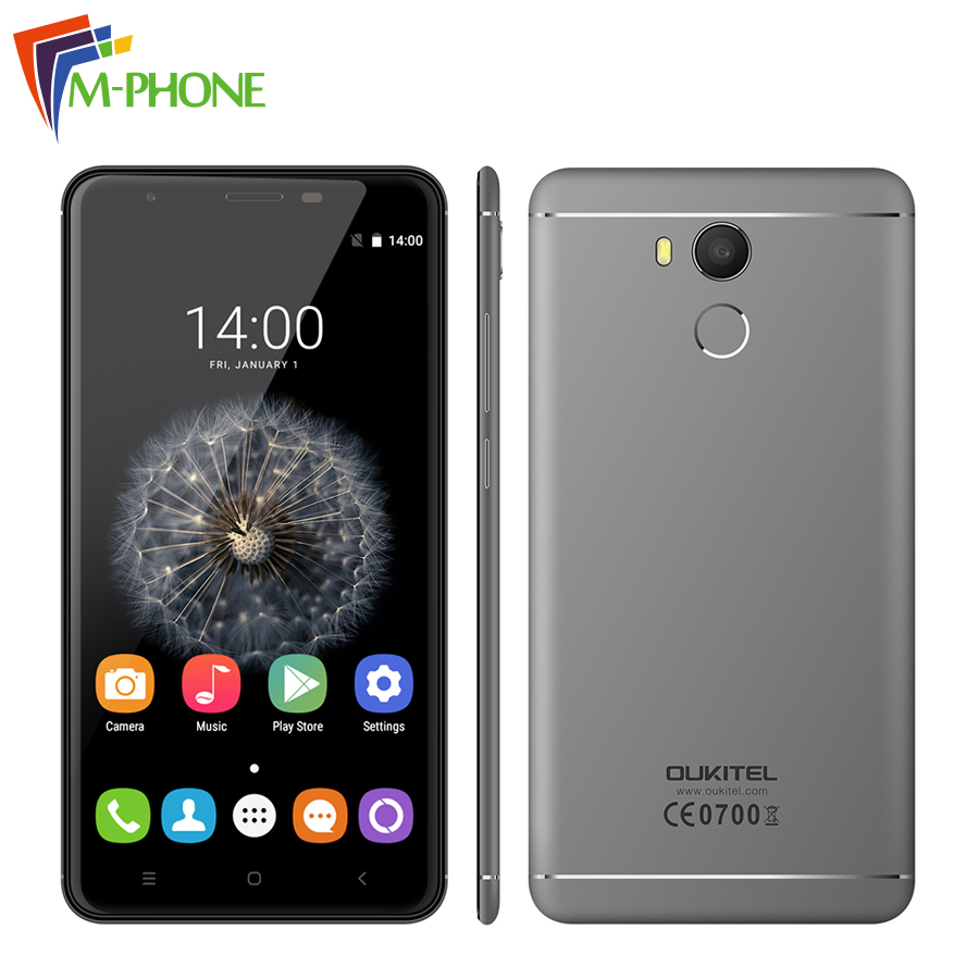 Original Oukitel U15 Pro 4G LTE Mobile Phone 5 5 inch MT6753 Octa Core Android 6