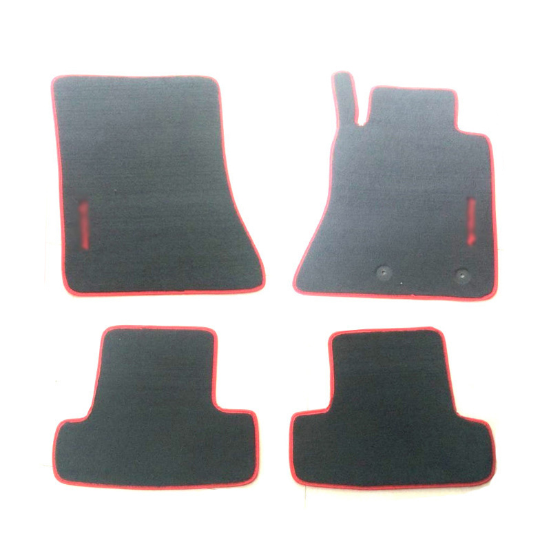 Ipoboo Premium Nylon Solido Tappetini Auto Inodore Liner Carpet Attrezzato Per RHD Ford Mustang 2016