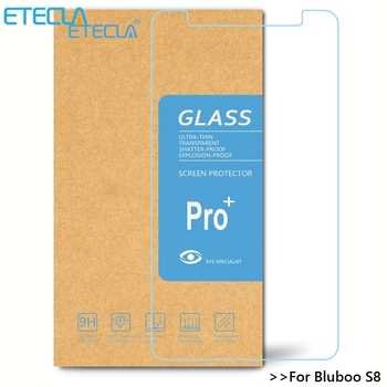 For Bluboo S8 Tempered Glass Bluboo S8 Glass Bluboo S8 Screen Protector 0.33mm 9H Premium Hardness Glass Film