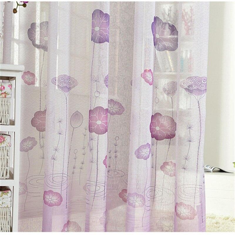 Rideaux Violet Gris. Acheter Moderne Simple Chambre Rideaux