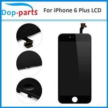 100 Adet fabrika fiyatına LCD Ekran iPhone 6 Için Artı dokunmatik lcd ekran Ekran LCD Meclisi Sayısallaştırıcı Cam lcd Yedek parçalar