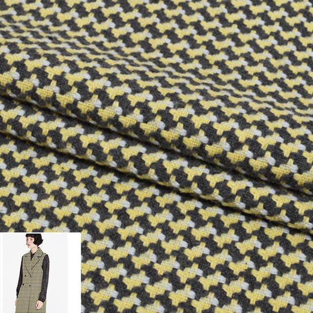 50x150cm/piece Yellow Gray Geometry Plaid High Quality Manual ...