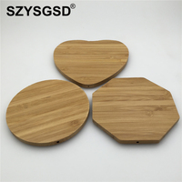 SZYSGSD Wood Texture QI Wireless Charger For IPhone X 8 For Samsung S8 S9 S9 Note