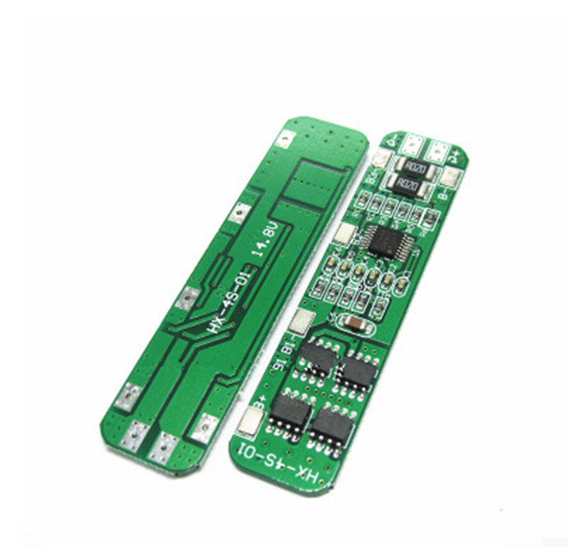 4S 6A 16v Li-ion 18650 BMS PCM battery protection board bms pcm for li-ion lipo battery cell pack new arrival 50x21x1mm 10a bms charger protection board for pack of 3 18650 li ion lithium battery cell wholesale price board