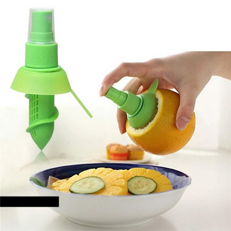 Creativo de orange exprimidor de jugo de jugo de squeeze mist spray orange lemon