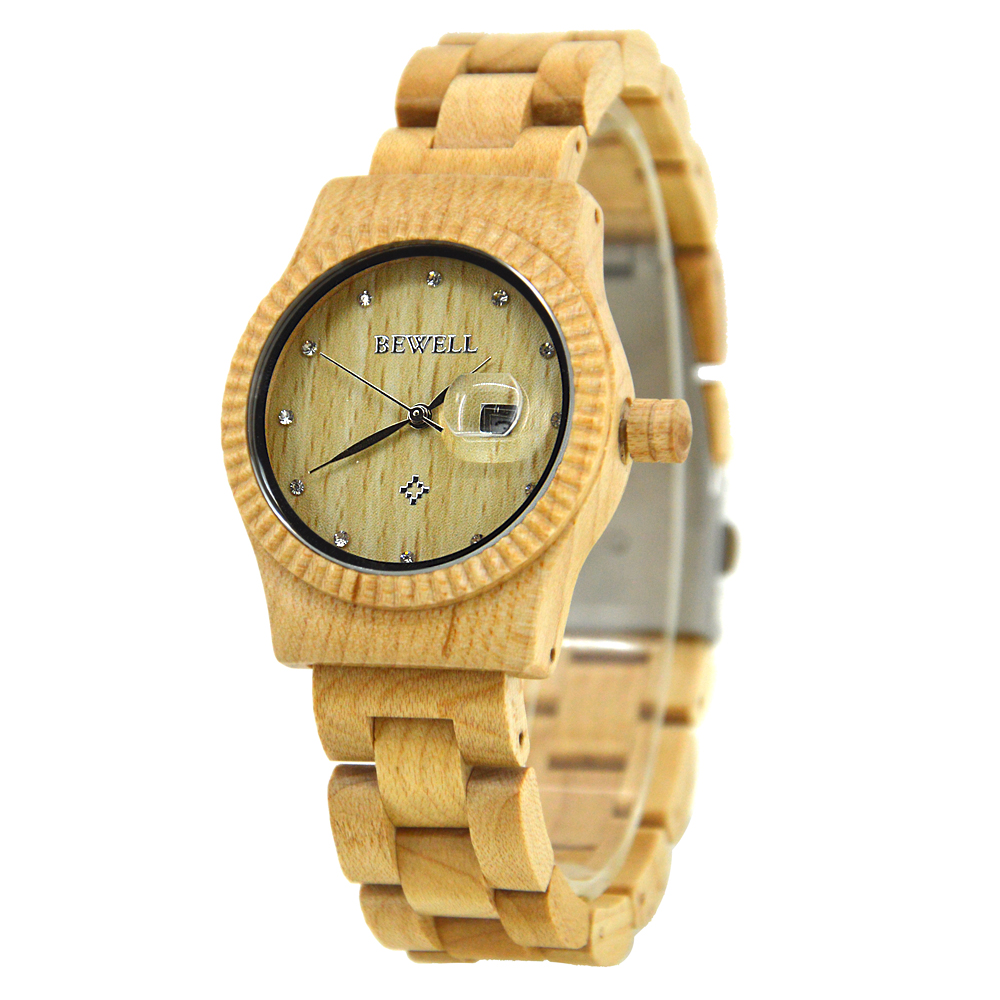 BEWELL 2018 New High Quality Brand Women Watches Date And Day Calendar Display Ladies Quartz Watch Free Shipping With Box 064ABEWELL 2018 New High Quality Brand Women Watches Date And Day Calendar Display Ladies Quartz Watch Free Shipping With Box 064A