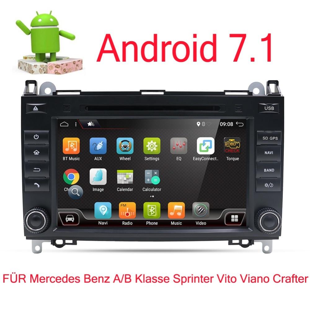 2DIN coche reproductor de DVD Radio GPS Navi estéreo multimedia para Mercedes Benz Sprinter B200 W209 W169 W169 Clase B w245 B170 Vito W639