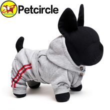 2017 petcircle hot sale pet dog cat clothes USA sport dog hoodie dog winter coat for chihuahua cotton dog customes freeshipping