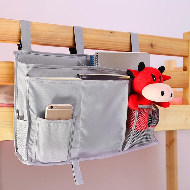Baby Carriage Bag Storage Children Bed Organizer Toddler Baby Crib Organizer Infant Toy Diaper Pocket For
