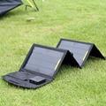 Портативный Складной 5 В 15 Вт Dual USB Порт Солнечное Зарядное Устройство Мобильного Телефона питания для MP3 MP4 GPS Камеры Игры Солнечных Панелей На Открытом Воздухе Зарядки
