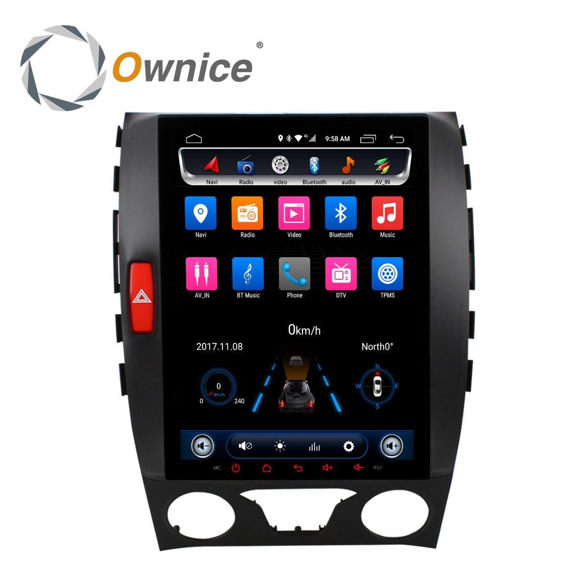 Ownice 8 Core Android 6.0 Lecteur DVD de voiture Pour Ford Edge 2015-2017 2din Radio de Navigation GPS de Voiture de Soutien jouer DVR DAB + 4G Carte SIM