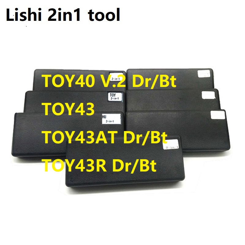 lishi 2in1 tool TOY40 V 2 Dr Bt TOY43 dr bt tool TOY43AT 2in1 tool TOY43R