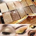 Eye Shadow Glitter Eyeshadow 10 Color Diamond Bright Colorful Eye Shadow Makeup Palette Professional Cosmetic Party Masquerade
