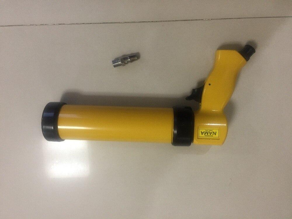 Importations de petit pistolet en plastique de Taiwan petit pistolet à colle pneumatique en verre TK-101