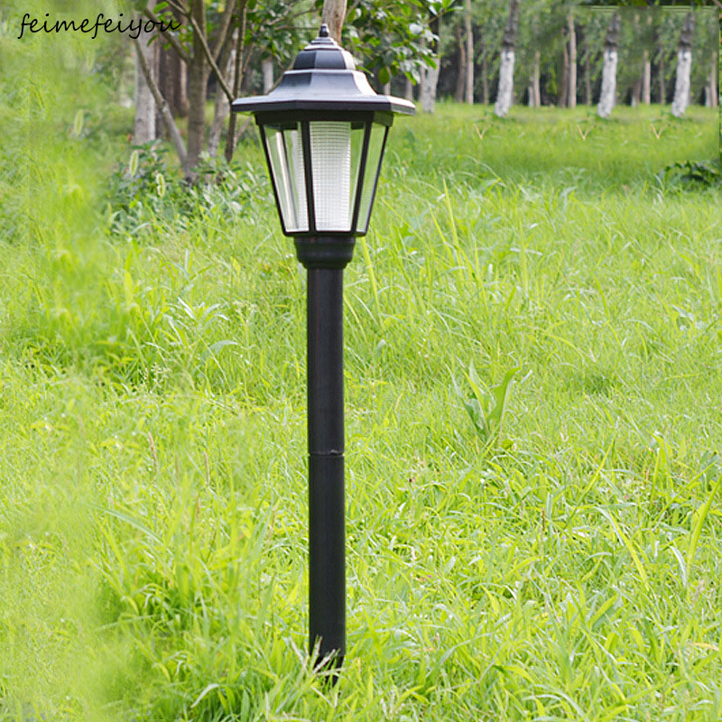 Outdoor Garden Solar 1.5M Path Way Landscape Fence Lamp Post Light Lightings
