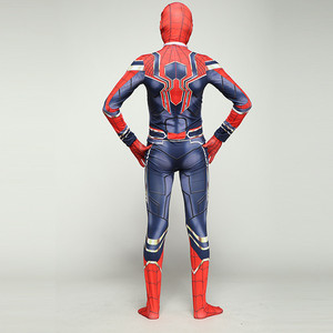 Image 5 - เด็ก Spiderman Homecoming ชุดคอสเพลย์เหล็ก Spiderman Far From Home ชุด Jumpsuits