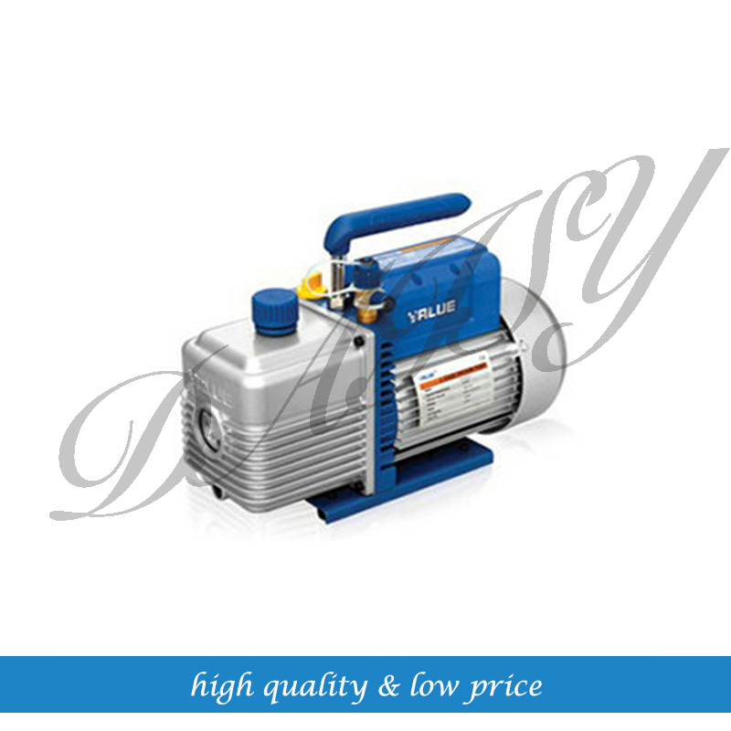 1L Rotary Vane Single Stage Mini Vacuum Pump for Air Conditioning tw 4a single stage 4 l rotary vane type portable vacuum pump with a single stage