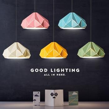 Nordic Postmodern Personality Restaurant Chandelier Creative Bedroom Lamp Bar Light Living Room Iron Lamp Free Shipping