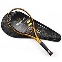 100% raquetes de tênis de fibra de carbono ceia luz 45-55 libras profissional raqueta tenis padel raquete tennisracket tênis