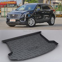 LUCKEASY Non-Slip Waterproof 3D TPO Trunk Boot Cargo Mat Recycled Durable For Cadillac XT5