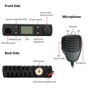 Image 2 - Radioddity cb 27 cb rádio móvel 40 channel am instantâneo de emergência canal 9/19 pa sistema rf ganho com microfone licença livre