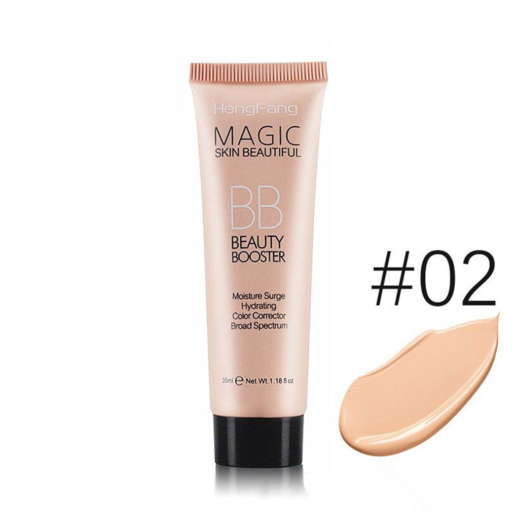 2019 New Brighten Base Foundation Full Cover Face Makeup Whitening BB Cream Facial Lasting Moisturing Oil Control Concealer 4