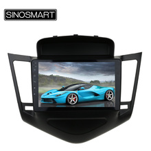 SINOSMART 9'' Support 4G 4 Core RAM 2G/1G Android 6.0 Car Audio GPS Navigation Player for Chevrolet Cruze 2009-2015 with Canbus(China)