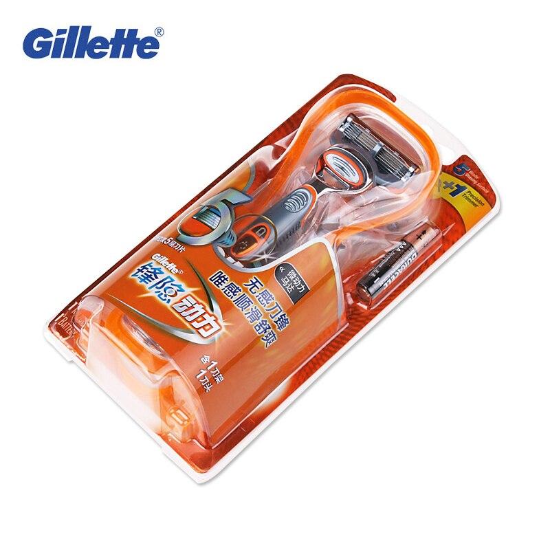 Genuine Gillette Fusion Power Shaving Razor Blades para hombres rasuradoras eléctricas  1 con 1 cuchillas marcas recto afeitar en Maquinillas de afeitar de ... 84894c4b0dea