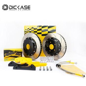 자동차 부품 고성능 dicase 디스크 브레이크 키트 레이싱 cp7600 브레이크 캘리퍼스 적합 아우디 17 림 휠
