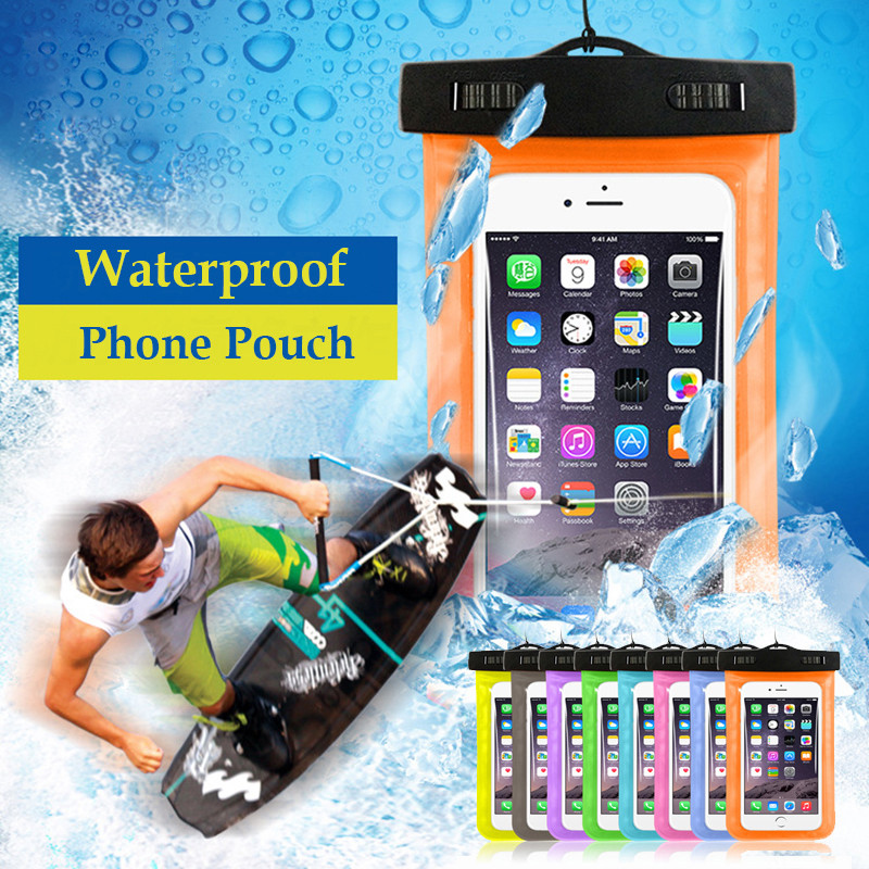 Universal Phone Bags Pouch with Strap Waterproof Cases Covers for iPhone 6 5S 6S 7 Plus Case Cover