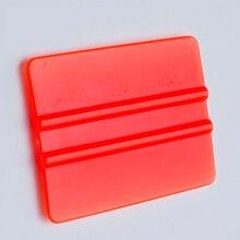 vinyl applicators 7.5*5.5cm car tint tools bondo cards mini vinyl sraper MX-C72 orange стоимость