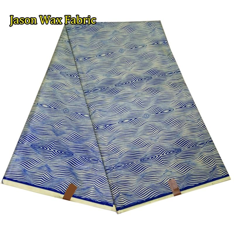 High Quality African real wax prints fabrics veritable hollandais wax Nigerian style 6 yards/pcs 100% cotton LBL