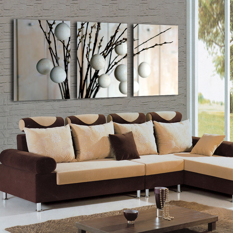 Living Room Bedroom Decorative Interesting Combination Modern Painting  Canvas Charm Contemporary Wall Hanging No Frame PT47 In Painting U0026  Calligraphy From ...