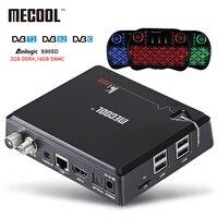 NEW MECOOL KI PRO TV Box KI PRO S2 T2 DVB Amlogic S905D Quad 2G 16G
