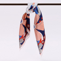 Fashion Real Silk Scarf Women Neck Scarves Square High Quality HS201