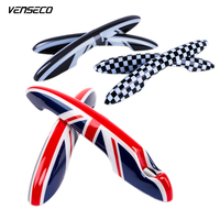 VENSECO MINI Wrist Of Door Protective Cover Car Sticker National Flag Car Styling OEM Exterior Accessories