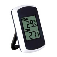 Home Indoor Outdoor LED Ambient Weather Station Wireless Sensor Thermometer Hygrometer Digital Temperature Meter FULI