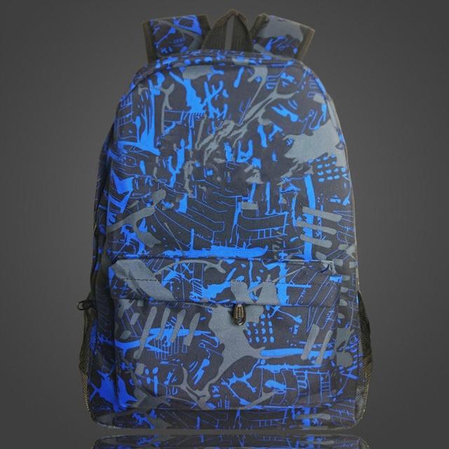 Commercio all'ingrosso Dropshipping cliente Gioco Zaino Personalizzato aggiungere Gioco Logo Notte Luminosa Borse da Scuola per le Ragazze Dei Ragazzi Adolescenti Bagpack 3