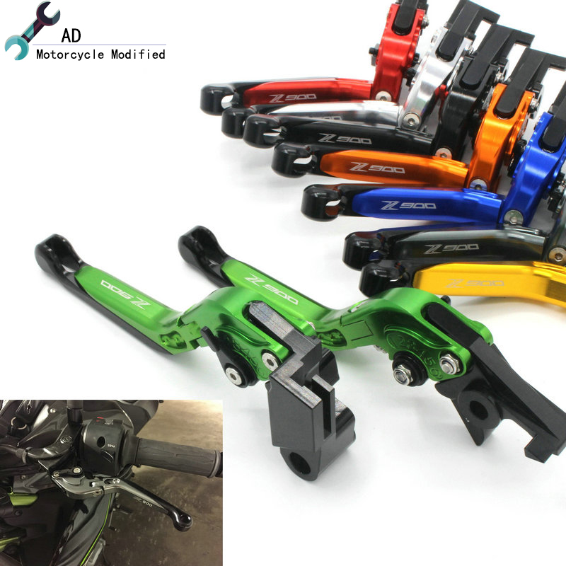 AD Motor bike Z900 2017 2018 Clutch Brake Levers Adjust Lever Moto Parts For Kawasaki Z 900 17 18 Motorcycle Accessories ! ad motor bike z900 2017 2018 clutch brake levers adjust lever moto parts for kawasaki z 900 17 18 motorcycle accessories