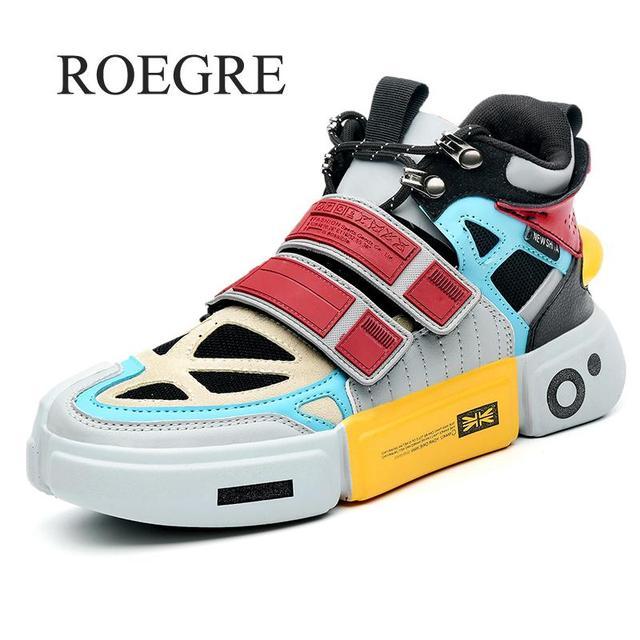 זכר נעליים למבוגרים Krasovki גברים נעלי ספורט לגברים מאמני Mens סופרסטאר בתוספת גודל גדול גדול גודל קרסול נעל סניקרס פלטפורמה